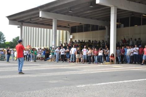 Assembléia dos trabalhadores da Mabe em Campinas