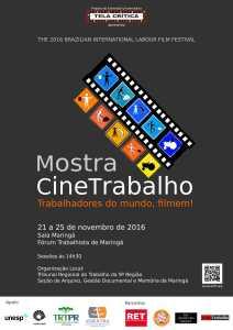 Mostra CineTrabalho em Maringá